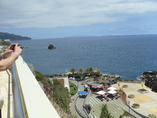 Madeira Regency Cliff: view from sun terrace