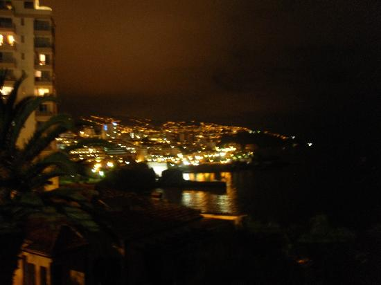 Madeira Regency Cliff: evening view from hotel terrace