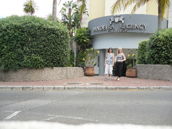 Madeira Regency Cliff: front ot hotel