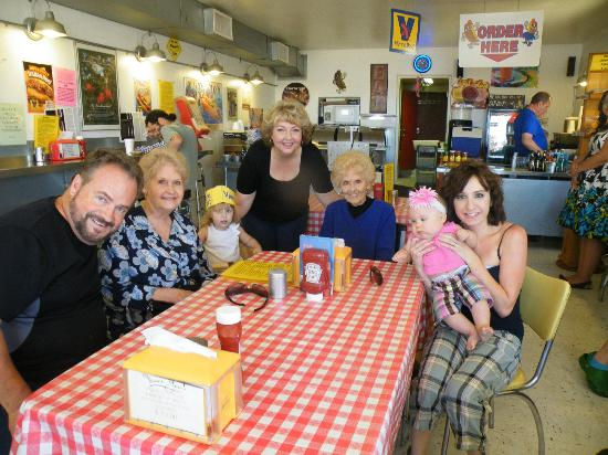 Jimmy's Hot Dog Company : Our family's lunch