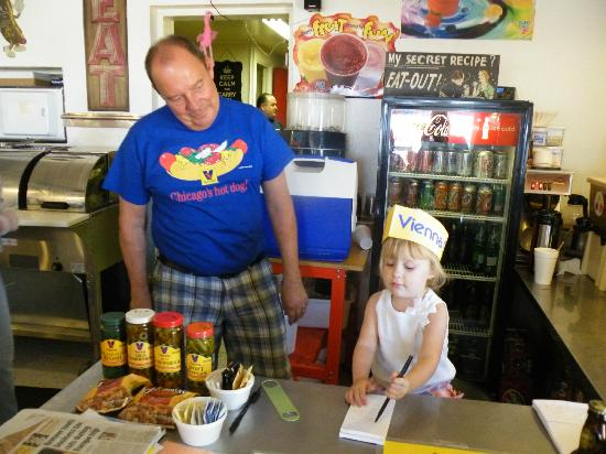 Jimmy's Hot Dog Company : Our granddaughter sees a career possibility at Jimmy's.