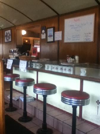 Littleton Diner : inside diner