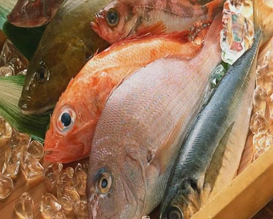 Taverna Samiopoula: Fische