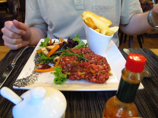 Steak Tartare Picture Of L Auberge Saint Pierre Saumur