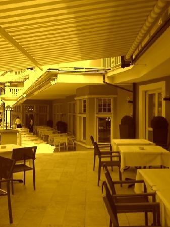 Leading Health Spa Villa Eden : terrazza
