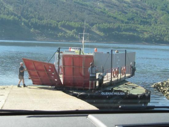 The Glenachulish Is A Turntable Ferry Picture Of The Skye Ferry Glenelg Tripadvisor