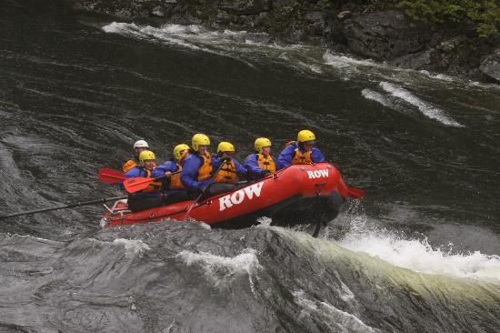 Lochsa River Rafting - ROW: Riding the Rollers