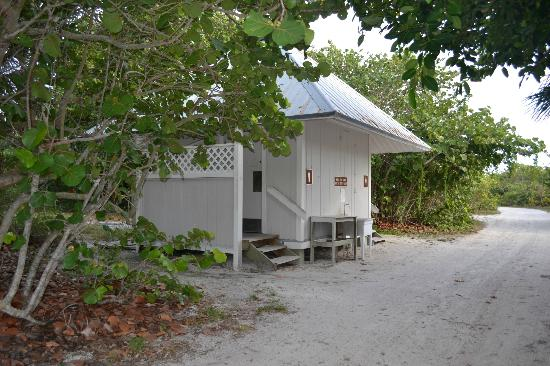 Cabins picture of cayo costa state park boca grande for Florida state parks cabins