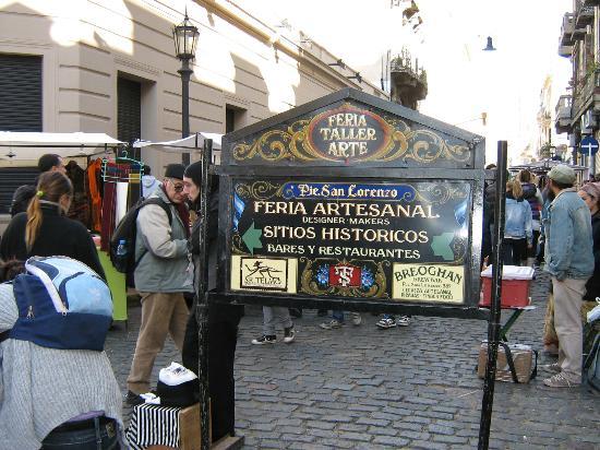 Foto De San Telmo Buenos Aires Entrada A La Feria