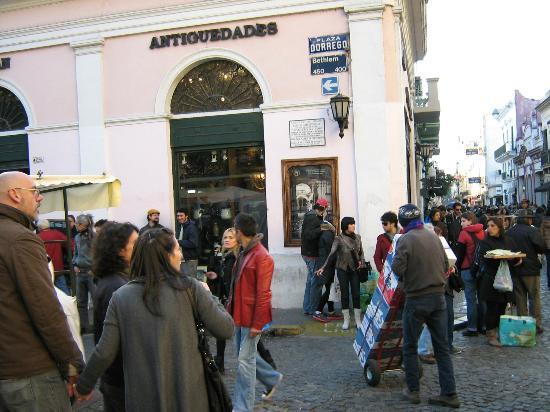 Mercado De Pulgas Plaza Dorrego San Telmo Photo De San