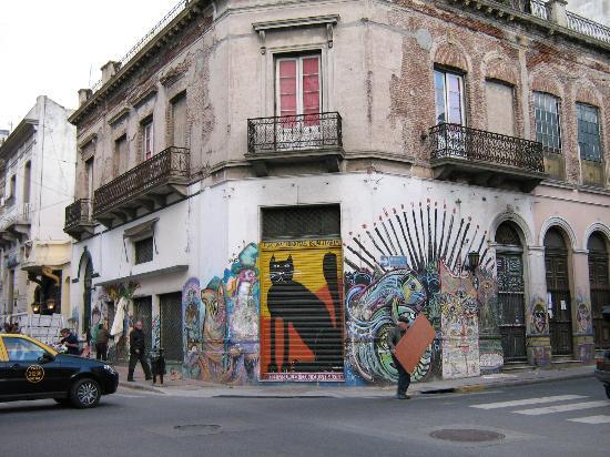 Foto De San Telmo Buenos Aires Mercado De Pulgas Plaza