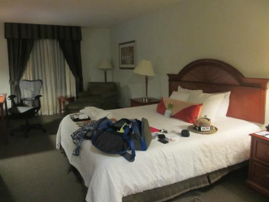 Hilton Garden Inn Houston/The Woodlands: Bed