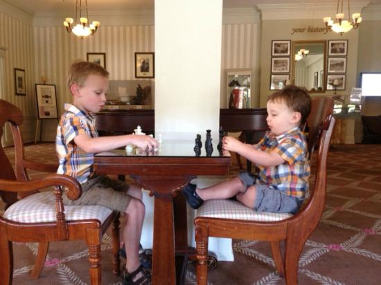The Omni Homestead Resort: Little Gentlemen