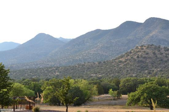 Sunglow Ranch - Arizona Guest Ranch and Resort : Mountain View