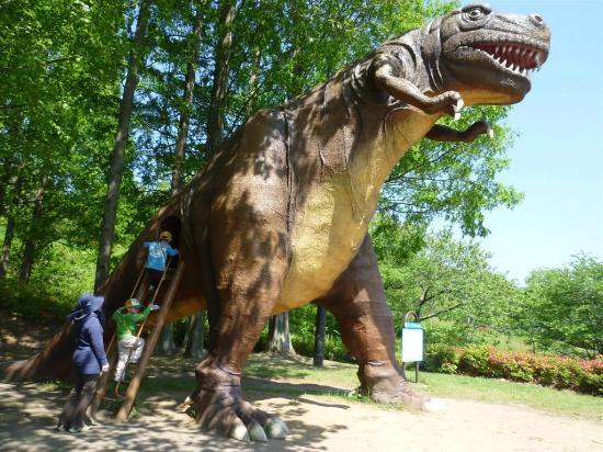 Chausuyama Dinosaur Park: joy