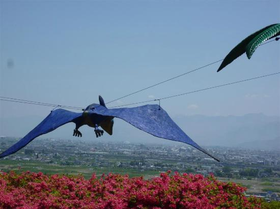 Chausuyama Dinosaur Park: view