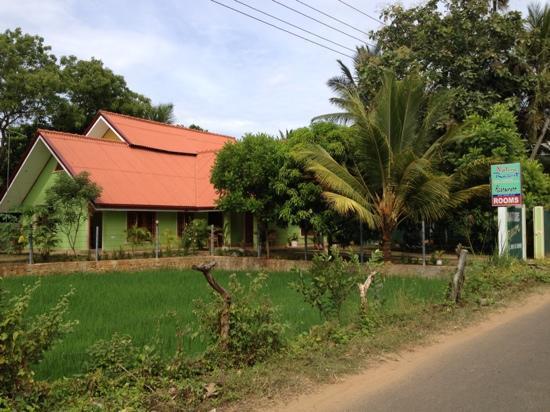 Nature Resort Tissamaharama: the accommodation from across the street