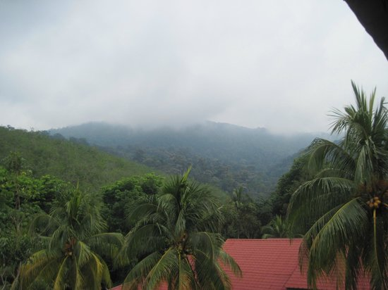 Tangkak, Malasia: view of mount ophir