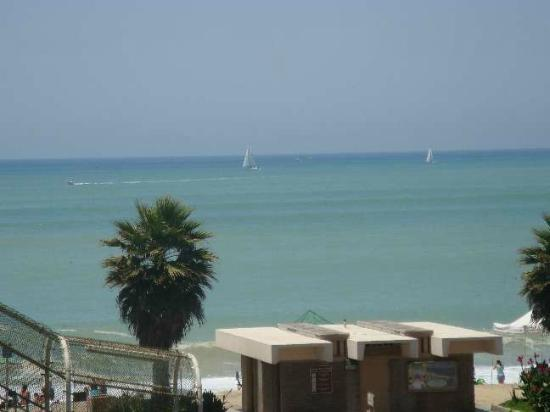 Capistrano Surfside Inn: From Our Balcony - Sailboats
