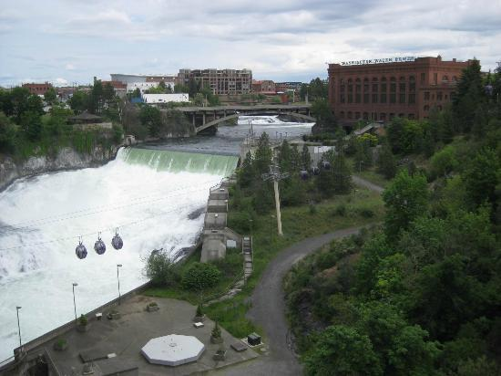 Spokane Club Inn: Spokane Falls