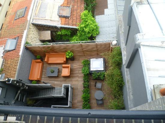 Fred Hotel: terraço
