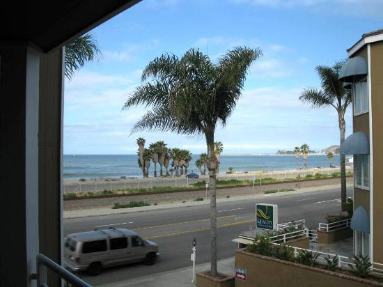 Quality Inn & Suites Oceanview: This was our view from the balcony on 6/4/12. BEAUTIFUL!