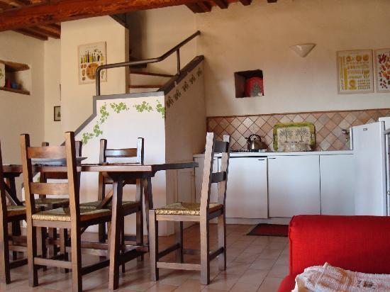 Agriturismo Borgo Casaglia: Borgo casaglia appartamento Ovile cucina