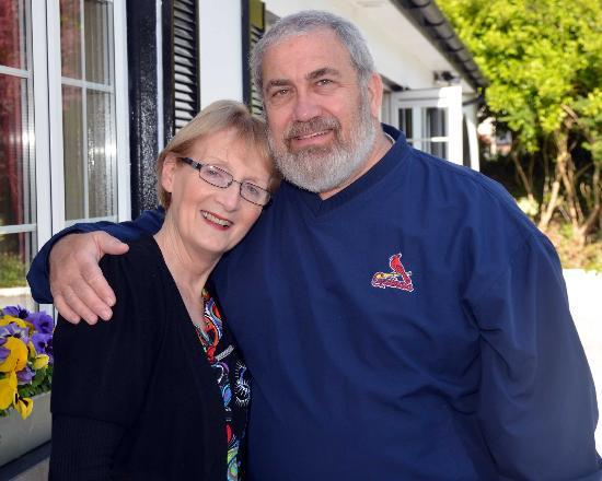 Claragh B&B: Cecilia Keily with Jim Welby