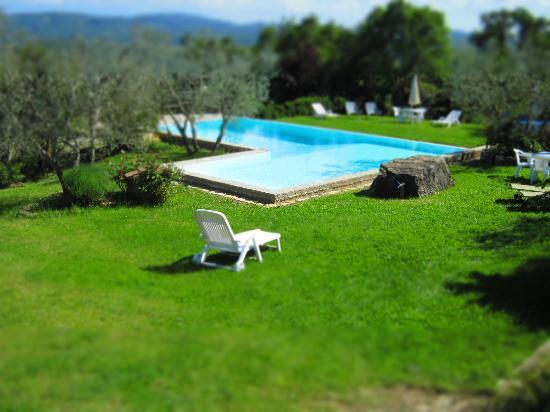 Agriturismo Borgo Casaglia: Borgo Casaglia piscina plastica