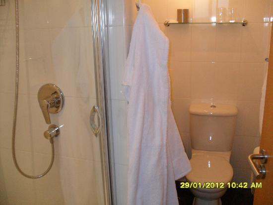 Fountain Court Apartments - EQ2: Shower Room (en suite)