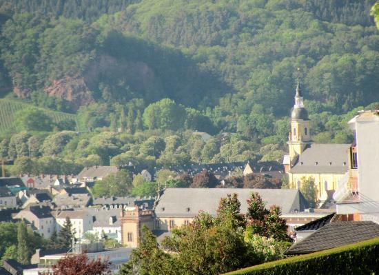 St. Paulin-Kirche: from afar