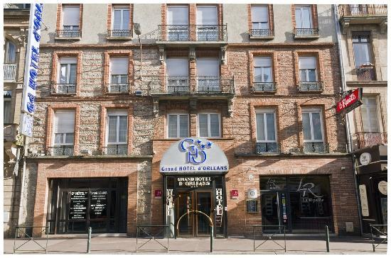 Grand Hôtel d'Orléans : Façade de l'hôtel