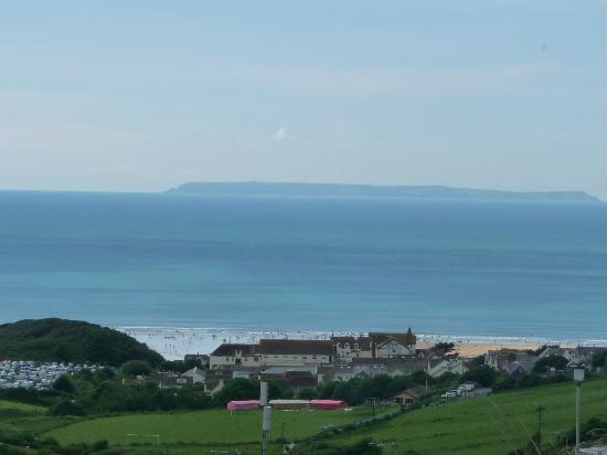Woolacombe Beach: The Bay from Woolacombe Sands Resort