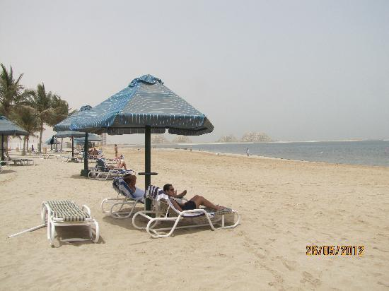 Bin Majid Beach Resort : Plage