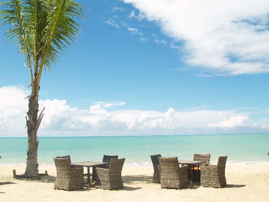 Beyond Resort Khaolak: View from beach bar