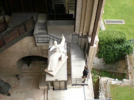 Museo Di Castelvecchio.Statua Equestre Di Cangrande Della Scala Foto Di Museo Di