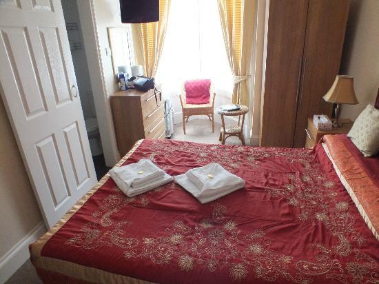 The Claremont Hotel: bedroom view 2