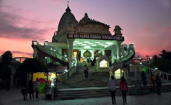 Main Temple - Picture of ISKCON Siliguri, Sri Sri Radha ...