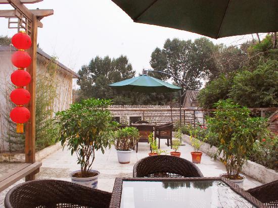 Xiao Yuan Alley Courtyard Hotel : garden
