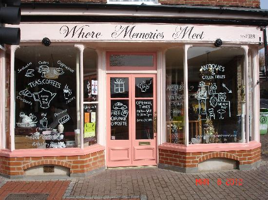 Where Memories Meet: The shop front