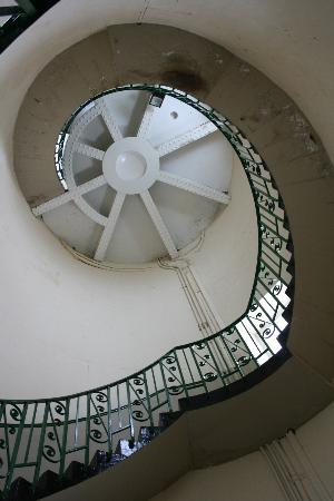 Old Lighthouse Dungeness: Stairs
