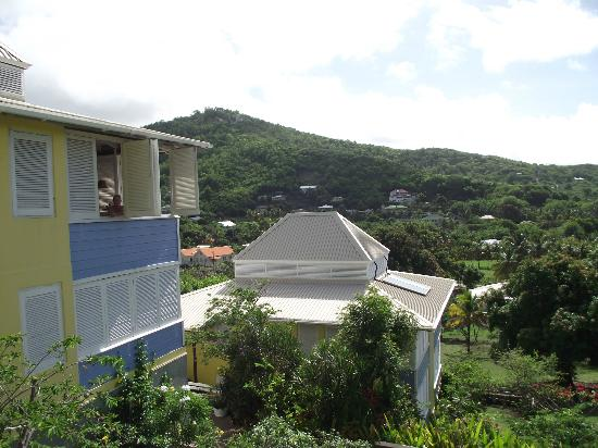 Sugarapple Inn: Our aprtment and view