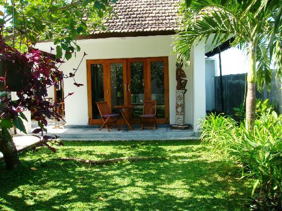 Villa Andaman : jardin