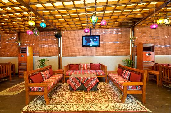 TIME Oak Hotel & Suites: The Serene relaxing Shisha lounge