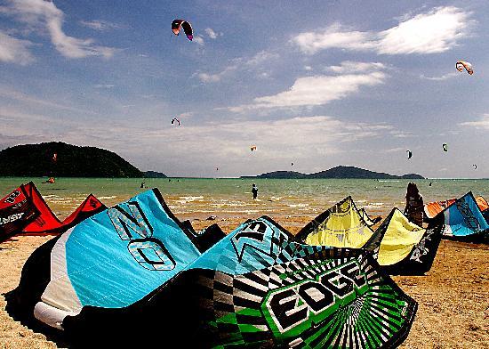 Friendship Beach Resort & Atmanjai Wellness Centre: Wind Surfing at Friendship Beach