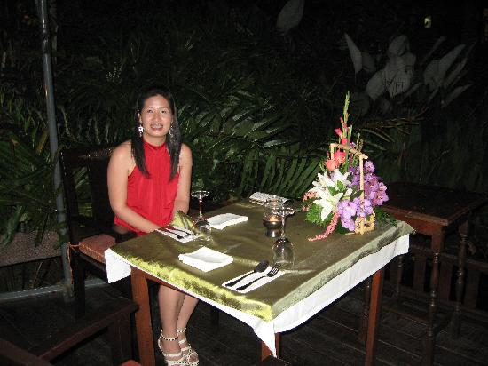 Oriental Siam Resort: b'day dinner