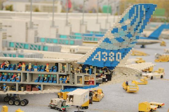 Legoland Duitsland: Aereo in lego