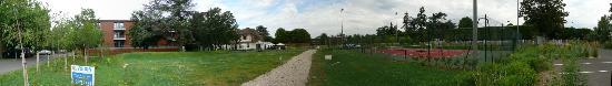 Relais de la Malmaison: Panorama Ansicht Hotelgelände