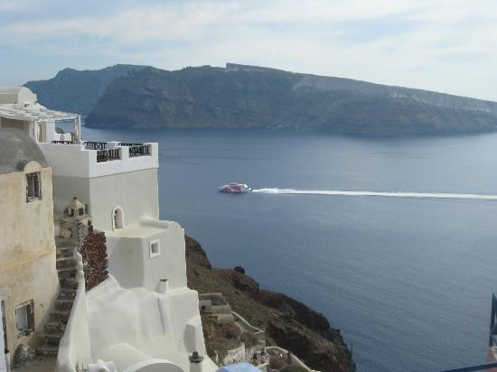Kastro Oia Restaurant : View from my table