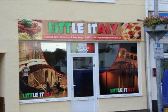The Front of little Italy